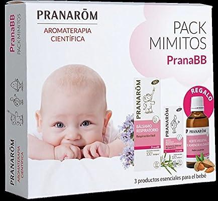 Prana Bebe pack mimitos: Balsamo Respiratorio, Aceite Defensas, Aceite Vegetal Almendras BIO: Amazon.es: Salud y cuidado personal