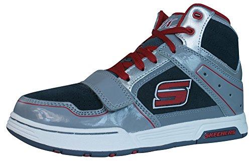 Skechers Endorse Demiere Garçons Sneakers / Chaussures-Grey-28