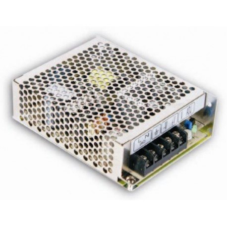 MEAN WELL RS-75-12 AC to DC Power Supply, Single Output, 12V, 6 Amp, 72W, 1.5 - 323599