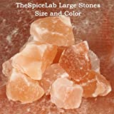 The Spice Lab's Premium Himalayan Pink Rock Salt 10 Pounds - Small Chunks the size of a golf ball