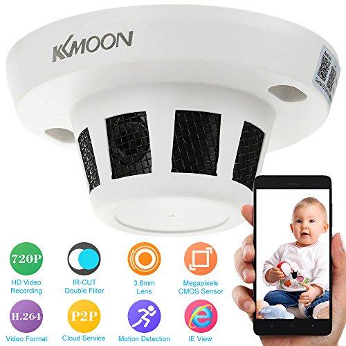 KKMOON h. 264 IR-CUT IP Überwachungs-Kamera Motion-Detection-CCTV Sicherheit Videoüberwachung (HD, 720p)