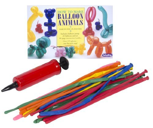 Schylling How to Make Balloon Animals Novelty by Schylling