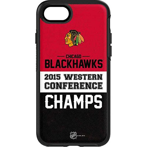 NHL Chicago Blackhawks OtterBox Symmetry iPhone 7 Skin - Chicago Blackhawks 2015 Western Conference Champs Vinyl Decal Skin For Your OtterBox Symmetry iPhone 7 by Skinit