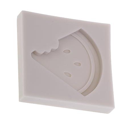 1 Pedazo de Molde de Silicona Llamativo de Forma Sandía Accesorios ...