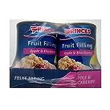 Princes Fruit Filling Apple & Blackberry 6 x 395gm