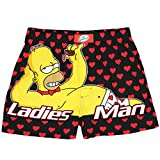 The Simpsons Homer Ladies Man Mens Boxer Shorts