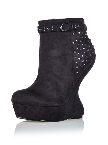 Blink by Bronx 3002868 A Keil Plateaustiefeletten black High Heel