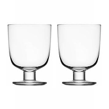 Iittala Gläser iittala 1008683 gläser set lempi 2 teilig 0 34 l klar matti