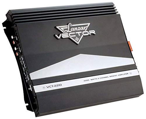 2-Channel High Power MOSFET Amplifier - Slim 2000 Watt Bridgeable Mono Stereo 2 Channel Car Audio Amplifier w/ Crossover Frequency and Bass Boost Control, RCA input and Line Output - - Channel 2 Legacy Amplifier American