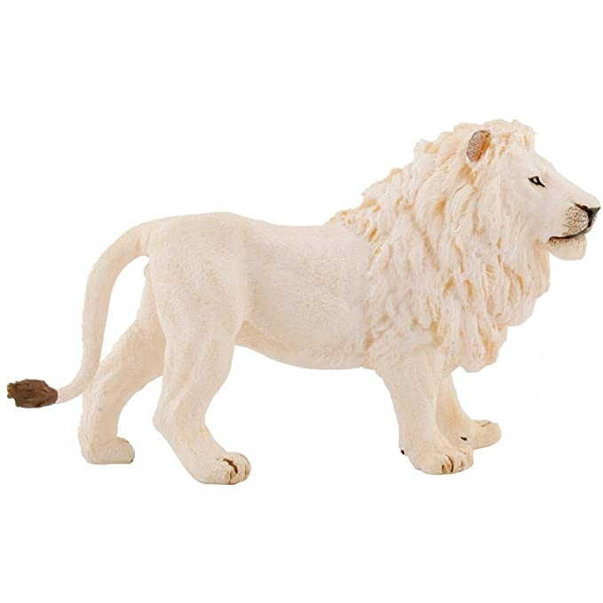 Action Figures Papo 50074 White Lion 14 Cm Wild Animals In Many Styles Animals & Dinosaurs