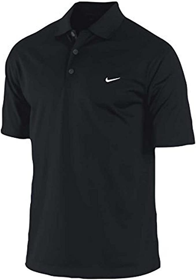 Nike Hombres de Dri-FIT para Golf, Polo, Negro, Negro: Amazon.es ...