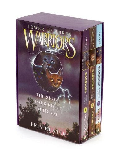 Warriors: Power of Three Box Set: Volumes 1 to 3: 1-3 by Erin Hunter (25-Sep-2014) Paperback - Cat Slp