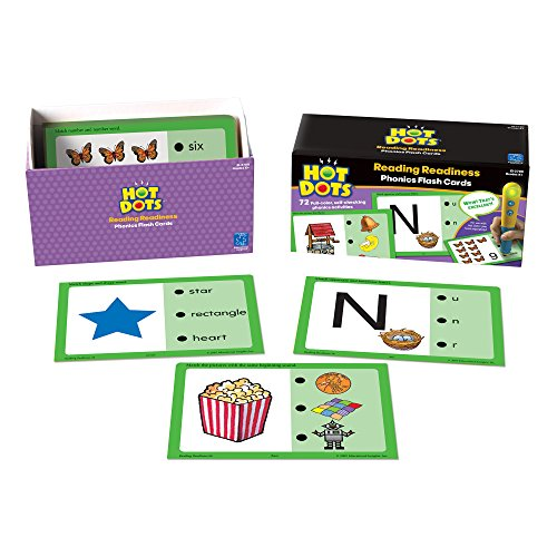 - Educational Insights Hot Dots Phonics Flash Cards- Reading Readiness