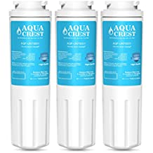 AQUACREST UKF8001 Replacement for PUR, Jenn-Air, Maytag UKF8001, UKF8001AXX, UKF8001P, EDR4RXD1, Whirlpool 4396395,EveryDrop Filter 4, Puriclean II, 469006 Refrigerator Water Filter (Pack of 3)