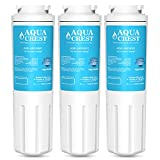 AquaCrest UKF8001 Refrigerator Water Filter Replacement for Maytag UKF8001 UKF8001AXX UKF8001P, PUR Jenn-Air UKF8001, EDR4RXD1, Whirlpool 4396395, EveryDrop Filter 4, Puriclean II, 469006 (Pack of 3)