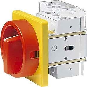Elektra tailfingen Principal de interruptor de emergencia D200/HS de F35de D de fijación RG F. frontal–Interruptor seccionador 4018325031902