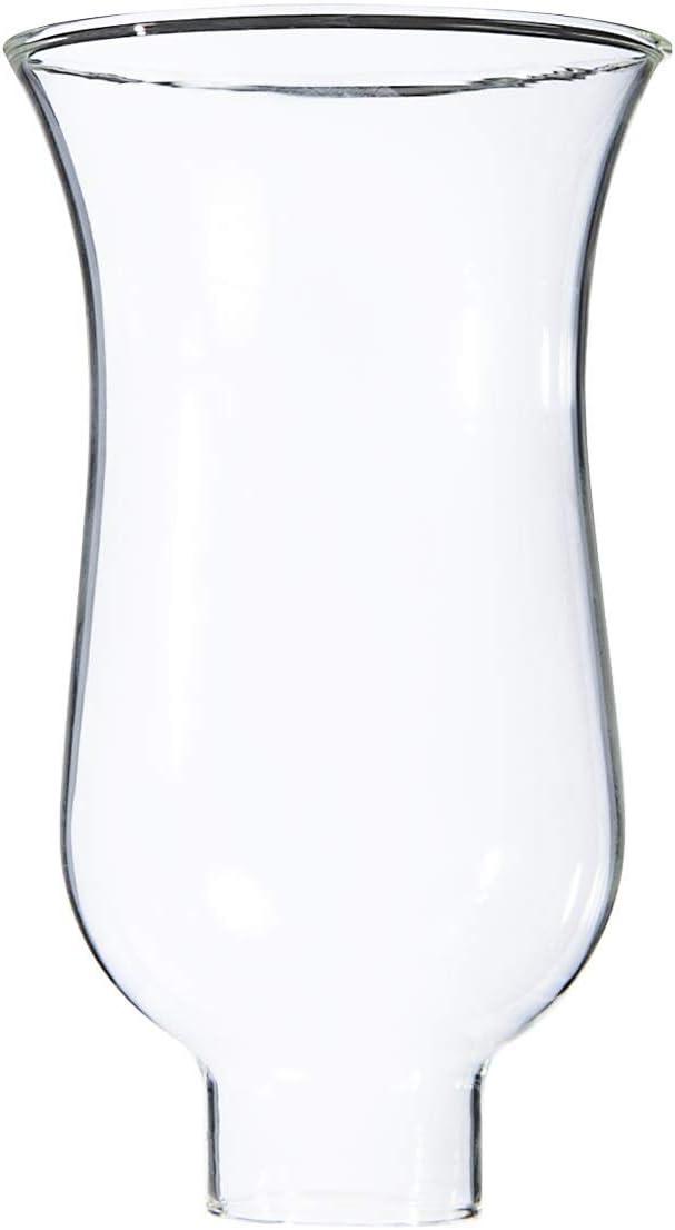 """B&P Lamp 1 5/8"""" X 6 1/2"""" Clear Hurricane Shade"""