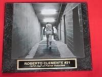 Roberto Clemente Pirates Collector Plaque w/RARE DUGOUT TUNNEL 8x10 Photo!