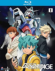Mobile Suit Gundam AGE TV Series Blu-ray Collection 1 from Bayview Entertainment