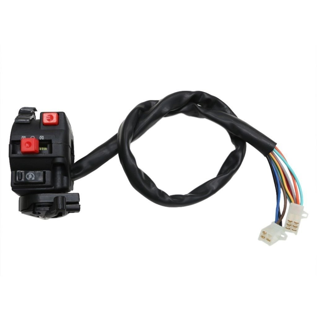 Zxtdr Kill Light Starter Choke Switch For Atv Quad 150cc Roketa 250cc Wiring Diagram Free Download 200cc 300cc Taotao Automotive