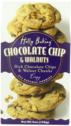 Moon Dance Baking Chocolate Chip and Walnut Cookies, 6 Ounce (Walnut Chocolate Cookies)
