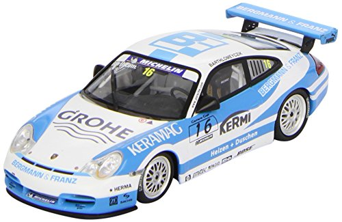SPIG Diecast Model Porsche 911 GT3 Cup Keramag (2005) in Blue and White (Porsche Cup Gt3)