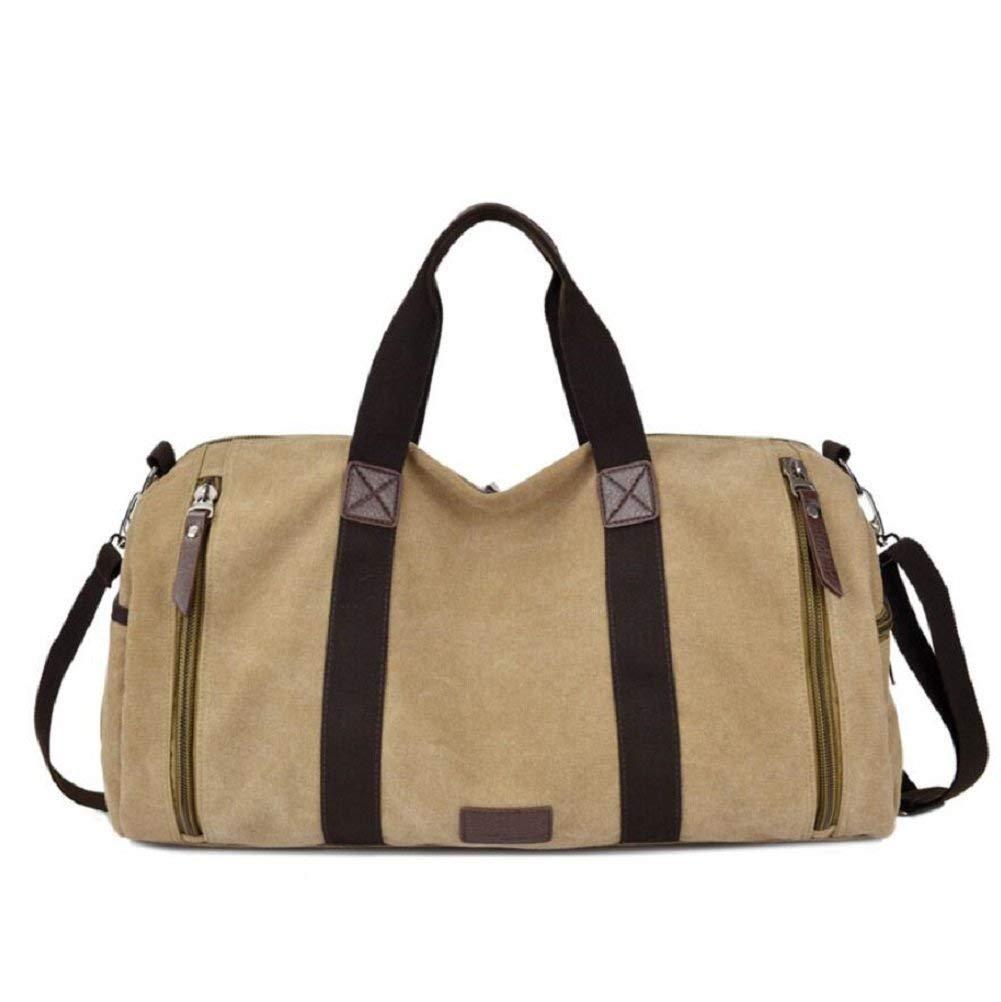 BO Outdoor-Rucksack 20-35L High-Capacity-Reisetasche, Wandern und Freizeit Urlaub Gepäcktasche, Leinwand Solide Verschleißfeste Anti-Tearing Handtasche