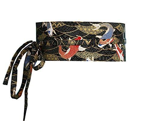 Kimono Obi Yukata Obi Waist Belt Waistband Pattern Harajuku [J] (Silk Linen Belt)
