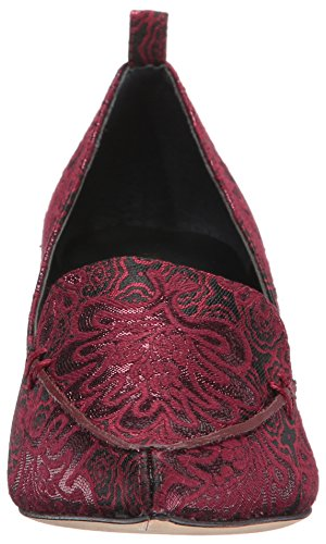 Baina2 Trump Pump Dark Red Fabric Ivanka Women's ZOSxUq