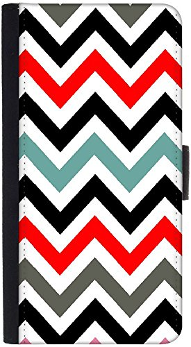 Snoogg Wallet Tasche Flip Case Sleeve Folio Book Cover mit Kreditkarte Slots, Cash Tasche, Ständer, Magnetverschluss, Schwarz für LG G4