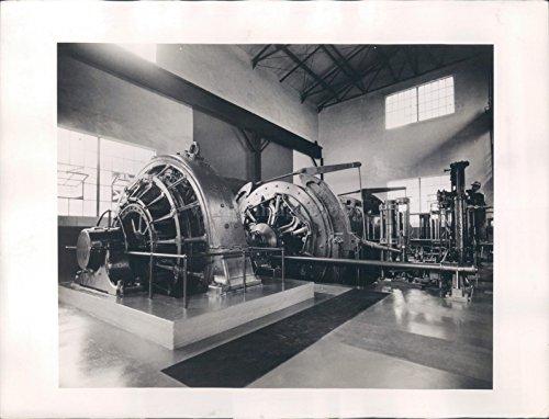 Vintage Photos 1943 Photo General Electric Motor Power Machine 1650 Horsepower ()