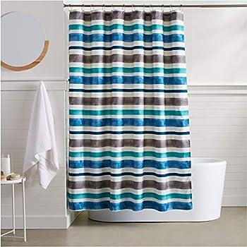 Amazon Com Barossa Design Fabric Shower Curtain 92 Inch