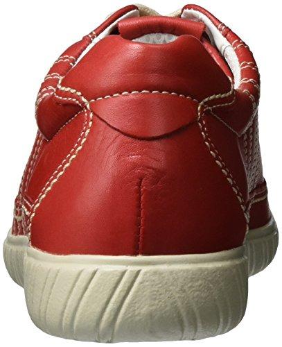 Gabor Dame Komfort Sneaker, Grå Rød (rød 84)