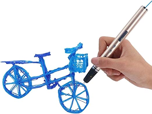 H.Y.FFYH Imprimir Pen Impresora 3D Pen Pen Garabato OLED PLA ABS ...