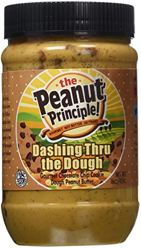 The Peanut Principle Gourmet Nut Butter Company Dashing Thru The Dough Nut Butter, 16 Ounce