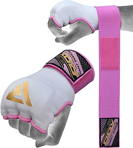 RDX Hand Wraps Ladies Training Boxing Inner Gloves MMA Fist Protector Bandages Mitts