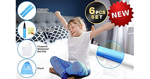 Amazon.com: Barra de cama inflable para niños (2 unidades ...