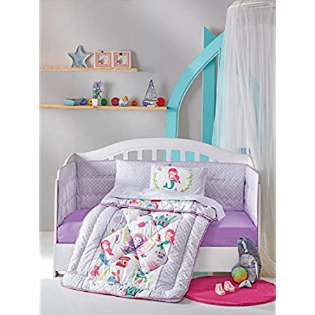 51LVwsToTqL._SS450_ Mermaid Crib Bedding and Mermaid Nursery Bedding Sets