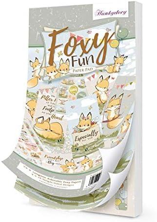 Foxy Fun 95x206mm DL Paper Pad Hunkydory 72 Sheets