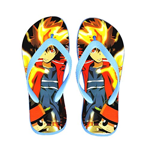 Bromeo Hitman Reborn Anime Unisex Flip Flops Chanclas 617