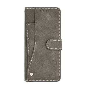 Cubix Flip Cover for OnePlus 9 Slide Out Pouch Leather Wallet Case Protective Back Cover (Khaki)