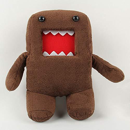 NATTEL 18cm 30cm 40cm Domokun Funny Domo-kun Plush Doll Children Novelty Creative Gift Kawaii Domo Kun Stuffed Toys for Kids ()