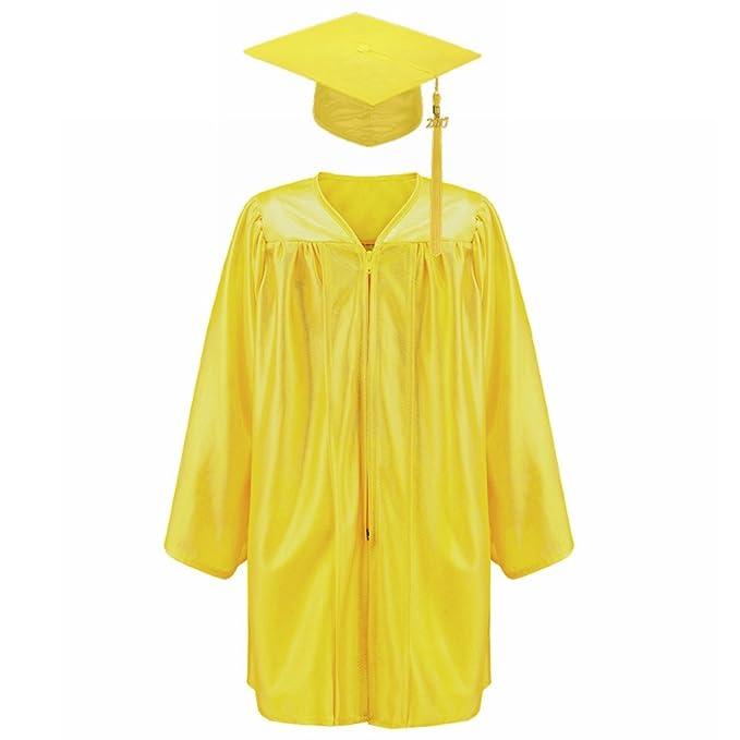 ad6e9d92712 Annhiengrad unisex shiny kindergarten graduation gown cap tassel package  gold jpg 679x679 Package graduation gown kindergarten