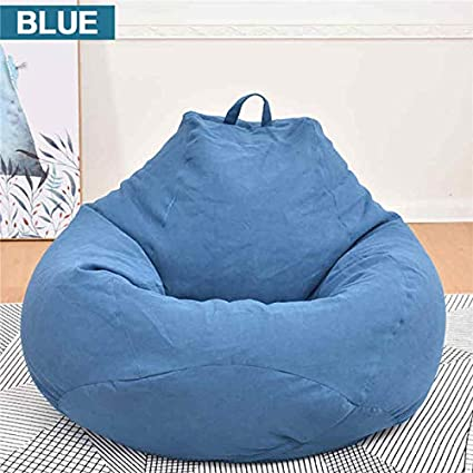Enjoyable Amazon Com Toyecota Bean Bag Solid Color Lounger Chair Gamerscity Chair Design For Home Gamerscityorg