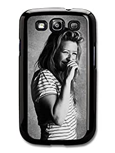 AMAF ? Accessories Ellie Goulding Singer Laughing Black & White case for Samsung Galaxy S3