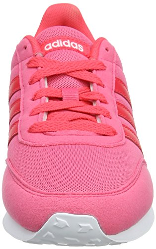 real Femme White footwear shock Adidas V Racer Baskets 0 Rose 0 Red Pink 2 qS7XwS0