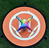 Drone-Landing-Pad-75cm-Universal-RC-Launch-Pad-Waterproof-Quadcopter-Landing-Pad-for-DJI-Mavic-Pro-Phantom-2344-Pro-Inspire-21-GoPro-Karma-3DR-Solo-Parrot-and-many-more