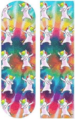 Unicorn Vomit Rainbow Skateboard Luggage Car Laptop 3M Vinyl Decal Sticker