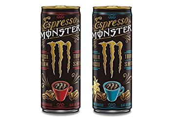 Amazon Espresso Monster Triple Shot Energy 2 Flavor