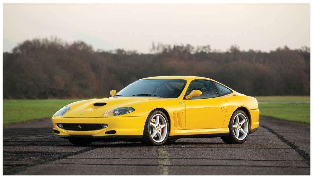 Amazon.com Ferrari 550 Maranello World Speed Record Edition